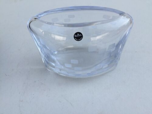 "Primary image for ROSENTHAL 7"" POCKET VASE-BLOCK Made In Slovenia 24% Lead Crystal"