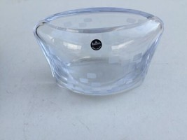 "Rosenthal 7"" Pocket VASE-BLOCK Made In Slovenia 24% Lead Crystal - $11.00"