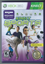 Kinect Sports (Microsoft Xbox 360, 2012) (Complete w/ Manual)  - $10.36