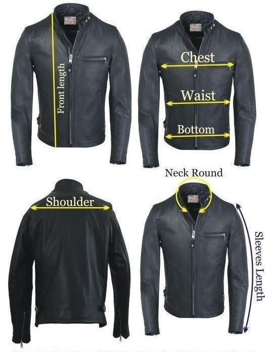 New Women's Genuine Soft Lamb Skin Slim Fit Biker Motorcycle Leather Jacket-32
