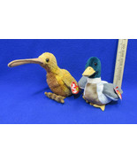 TY Beanie Babies Plush Original Stuffed Animal 1997 Jake 1998 Beak Lot Of 2 - $12.22