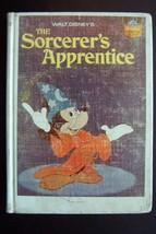 Walt Disney's The Sorcerer's Apprentice Vintage Hardcover Book - £11.94 GBP