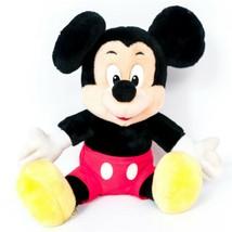 "Disneyland Mickey Mouse VTG Plush 11"" Disney World Parks Seated Stuffed Animal - $14.71"