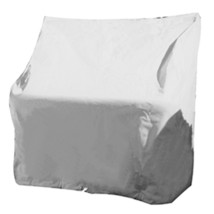 Taylor Made Large Swingback Back Boat Seat Cover - Vinyl White - $40.10