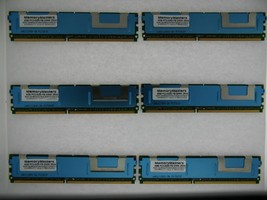 24GB 6x4GB MEMORY PC2-5300 ECC FULLY BUFFERED for SERVERS and WORKSTATIONS