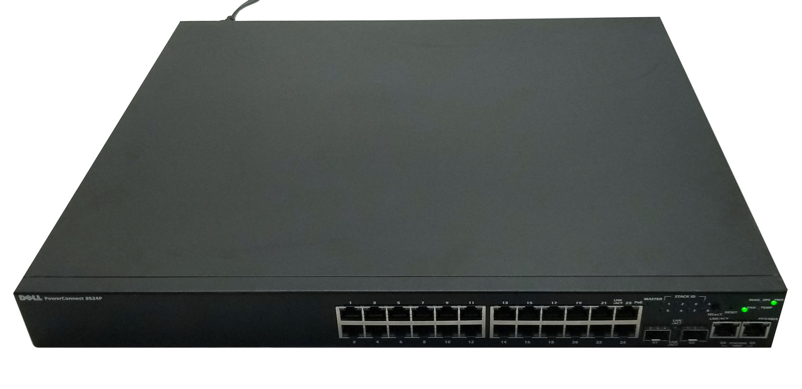 Dell PowerConnect 3524P 24 Port Network Switch Bin:2