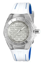 Technomarine Women's TM-115155 Cruise Monogram Quartz Silver Dial Watch - $119.30