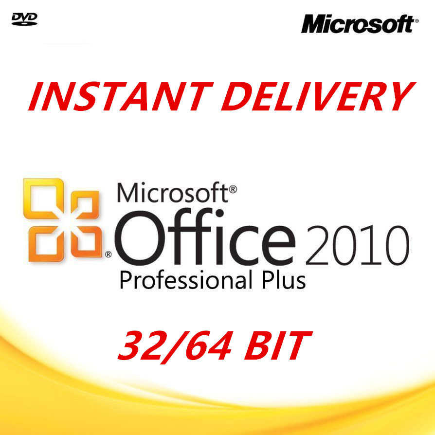 ms office 2010 pro plus 64 bit