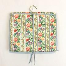 Vtg Diane Von Furstenberg Hanging Toiletry Travel Bag Cosmetic Jewelry O... - $24.99