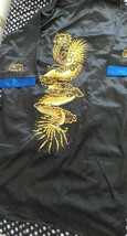 Dragon embroidered silk robe - $24.19