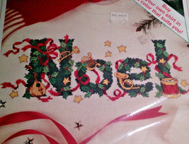A Musical  Noel Sunset Christmas Counted Cross Stitch 18349 Opened - $18.14