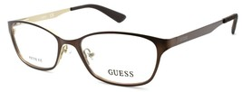 GUESS GU2515 049 Women's Eyeglasses Frames Petite 50-16-135 Matte Dark B... - $64.25