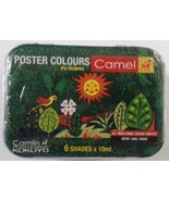Poster Colors  6 Color Set  Camlin Kokuyo Poster Colors  6 Shades {10ML ... - $7.68