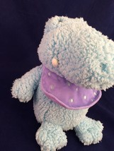 HALLMARK Plush LIL TOOFERS Baby BLUE DRAGON ALLIGATOR CROCODILE  Super S... - $5.52
