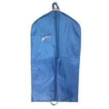 Liberty Bags Nylon Garment Bag with Double Handles, Royal - $12.17
