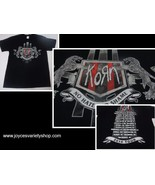 KORN NO HATE NO SHAME 2014 Tour Black T-Shirt NWT Sz Large Gildan Heavy ... - $14.84