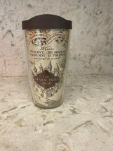 Tervis The Marauders Map Wrap With Travel Lid 16 oz NEW - $17.35