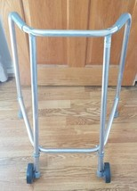 Trulife RM563080 Compact Wheeled Walking Zimmer Mobility Aid Frame 2 Wheels - $73.99