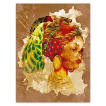 African Woman Portrait Juneteenth : Gift Sticker Ethnic Art Black Cultur... - $1.50+