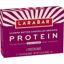 LARABAR Protein Almond Butter Chocolate Brownie, MultiPack, 4 Count - $11.99
