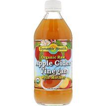 Organic Raw Apple Cider Vinegar with Mother, 16 fl oz (473 ml) - $19.99