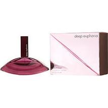 Euphoria Deep By Calvin Klein Edt Spray 3.4 Oz - $113.00