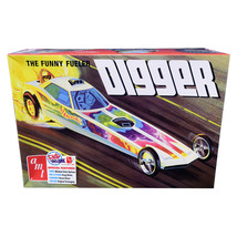 Skill 2 Model Kit Digger Dragster The Funny Fueler 1/25 Scale Model by A... - $40.89