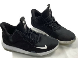 Nike Boys KD Trey 5 AT5685-001 Black Basketball Shoes Lace Up Low Top Si... - $38.21