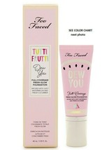 Too Faced Tutti Frutti Dew You Full Coverage Fresh Glow Foundation VANIL... - $23.76