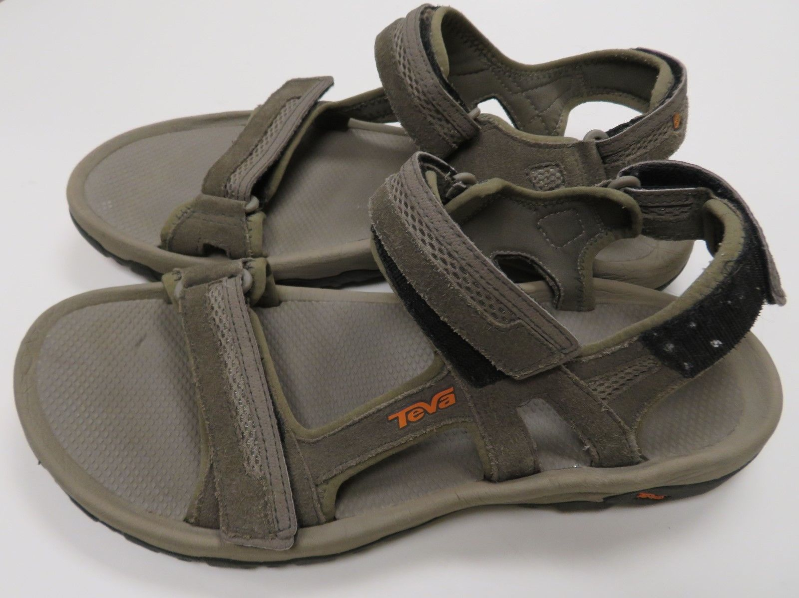 576bbda2b4a2f TEVA Hudson Mens Hiking Walking Water Sandals 1002433 Adjustable Shoes SZ 12