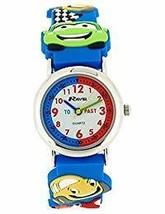 Ravel Boys 3D Funky Cars Design Time Teacher White Dial Watch R1513.67 - $17.01