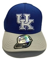 NCAA Kentucky Wildcats Cap, Youth Boys, Tech Structured Snap Hat, Royal - $13.09