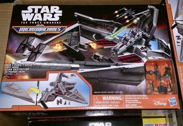 MicroMachines Star Wars The Force Awakens First Order Star Destroyer Tin... - $19.79