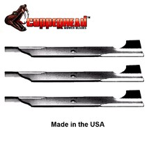 "Copperhead Blades for 32"" & 48"" Deck 038482000 7017036BMYP 7017036YP 112... - $30.15+"