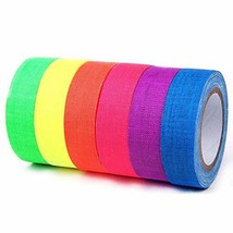 E-More UV Blacklight Reactive Spike Tape Fluorescent Adhesive Tapes Gaff... - $13.96