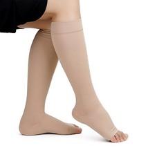 DOTASI Knee High Compression Socks for Men Women 20-30mmHg Open Toe Stoc... - $13.76