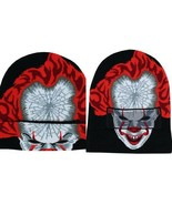 NEW w/ Tags OFFICIAL IT Pennywise Clown Knit Helmet Beanie Cap 1616 Hold... - $15.79