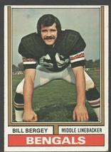Cincinnati Bengals Bill Bergey 1974 Topps Football Card 447 ex/em - $0.85