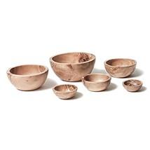 Berard Olive-Wood Handcrafted Bowl, Set of 6 - $95.58