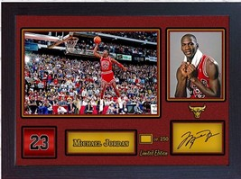 Michael Jordan Chicago Bulls signed autograph NBA Basketball Memorabilia... - $19.27