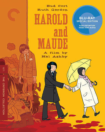 Harold and maude crition blu ray stock cover