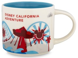 Starbucks Disney California Adventure You Are Here V2 Collection Mug NEW... - $59.79