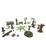 Forest & Fantasy Decorative Figurines Animals & Gnome Hobby Set w/ Tree ... - $27.84