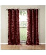 Duck River Textile Blair 12205 Curtain Wine Color, One Panel (36 x 84 in) - $25.00