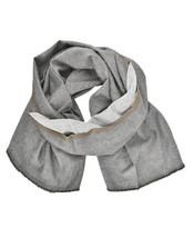 Fabio Quaranta Mens Classic Scarf Everyday Grey Size OS - $80.82
