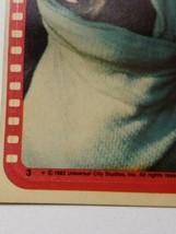 "1982 TOPPS ""E.T."" Extra Terrestrial Sticker #3 Stickers  - $99.00"