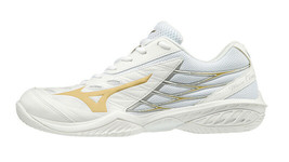 Mizuno WAVE CLAW Badminton Shoes Unisex Indoor Sports Shoes White 71GA191050 - $142.11
