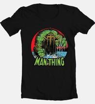 The Man-Thing T-shirt Black Bronze Age Comics comic book superhero cotton tee image 2