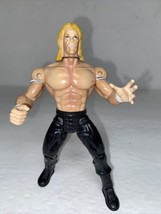 "1999 Lex Luger Smash N' Slam Toy Biz 6.5"" Wrestling WWE WCW Action Figure - $6.93"