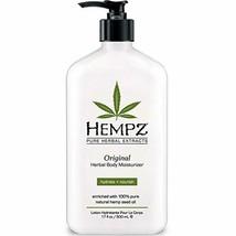 HEMPZ Pure Herbal Extract:Original Herbal body Moisturizer, hydrate + no... - $19.65